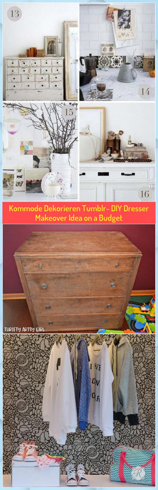 Diy Dresser Makeover Idea