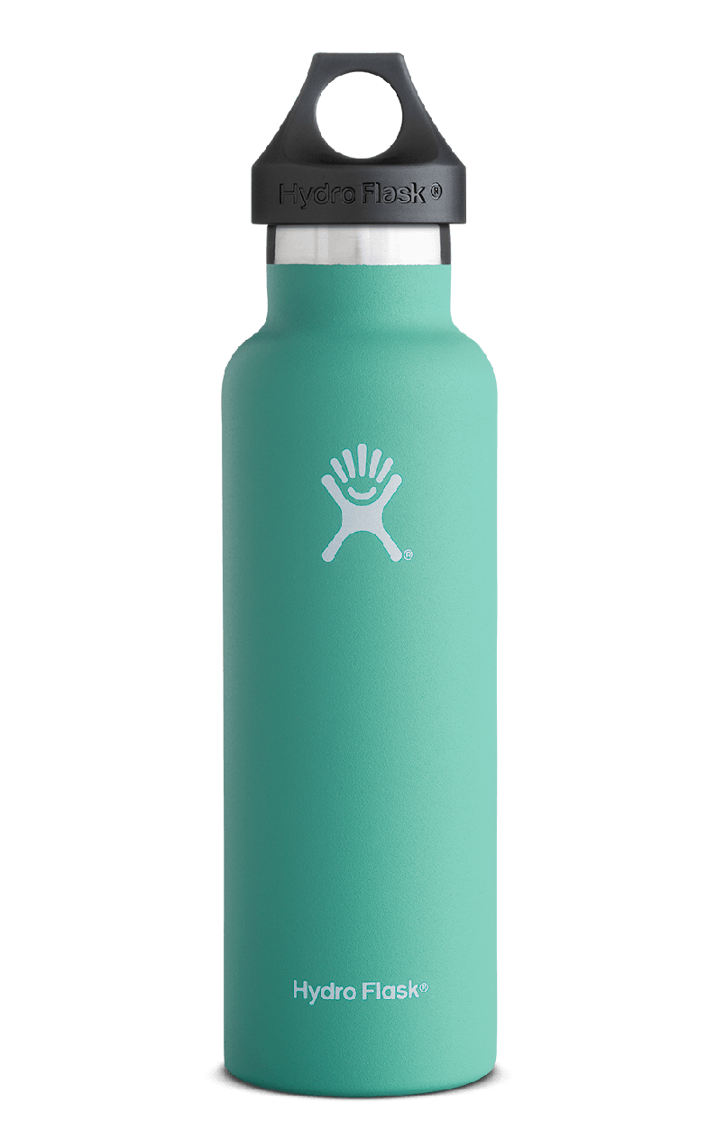 Hydroflask 21 Oz Standard Mouth In Mint Water Bottle Hydro Flask Water Bottle Hydroflask
