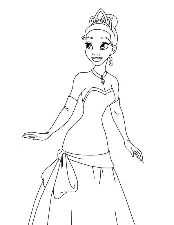 Princess Is So Adorable In Princess And The Frog Coloring Pages Bulk Color Frog Coloring Pages Princess Coloring Pages Disney Coloring Pages