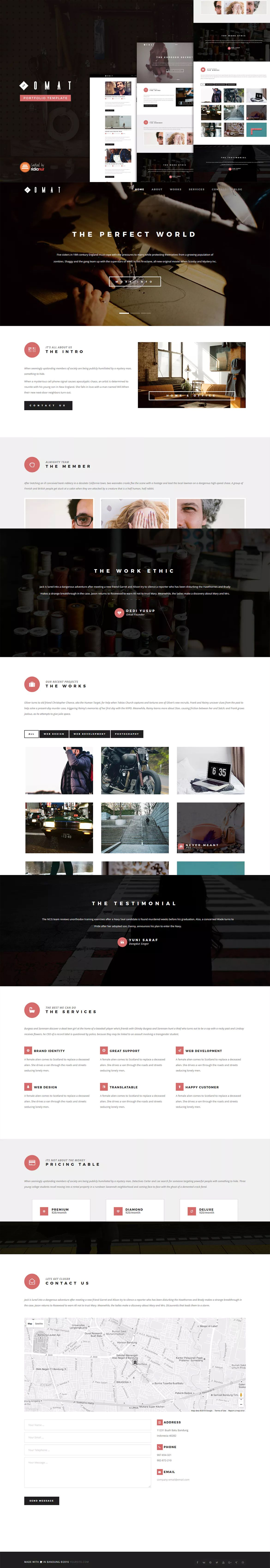 Alien Invasion Free Website Template Free 11