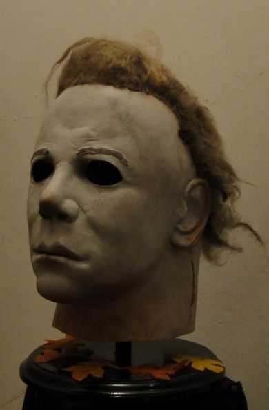 Michael Myers Mask Halloween 1.Replica White Masks Handiboy Studios Nhk Captain Mulpagano