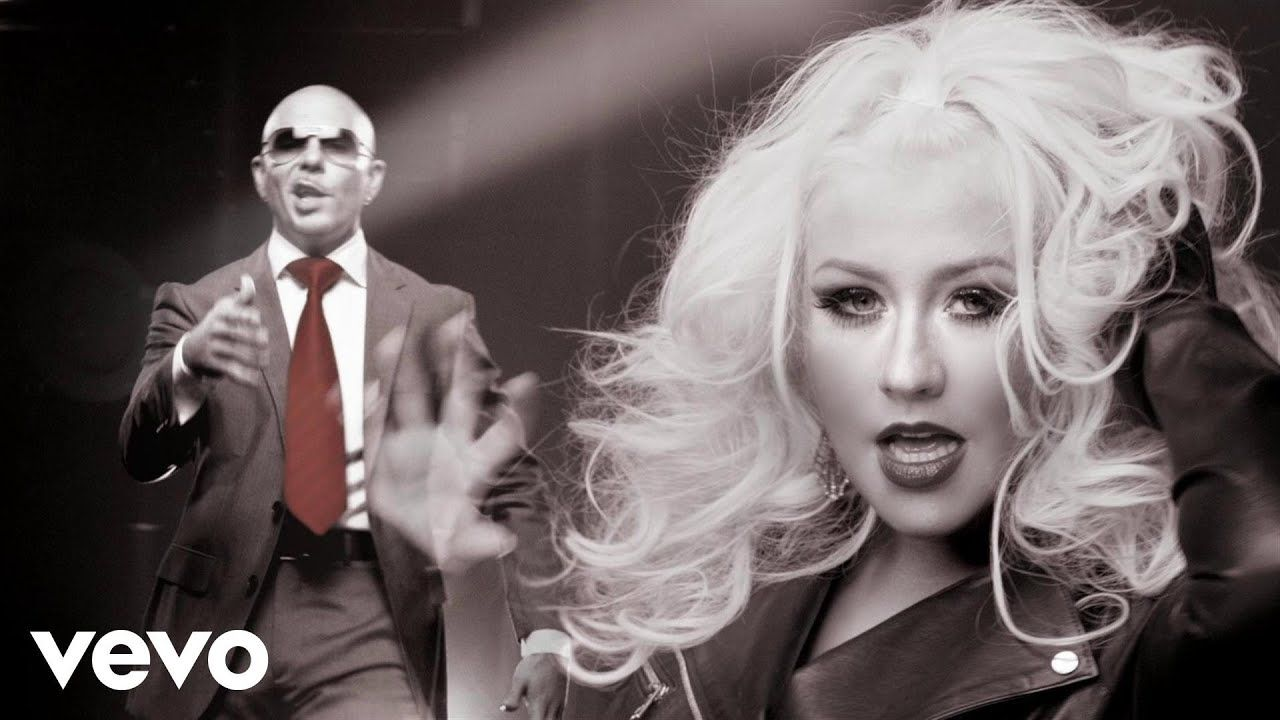 Pitbull Feel This Moment Ft Christina Aguilera Christina Aguilera Recessional Songs Pitbulls