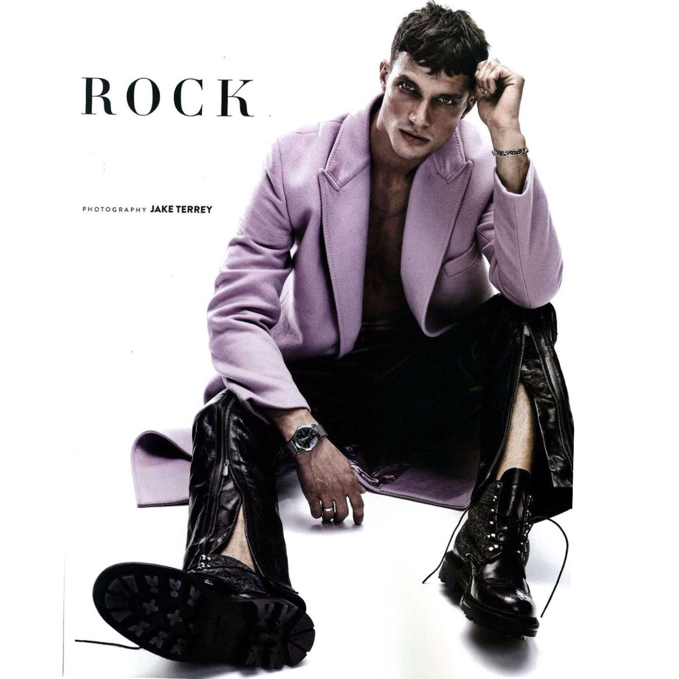 Versaceeditorials irresistible appeal in versace menswear gq