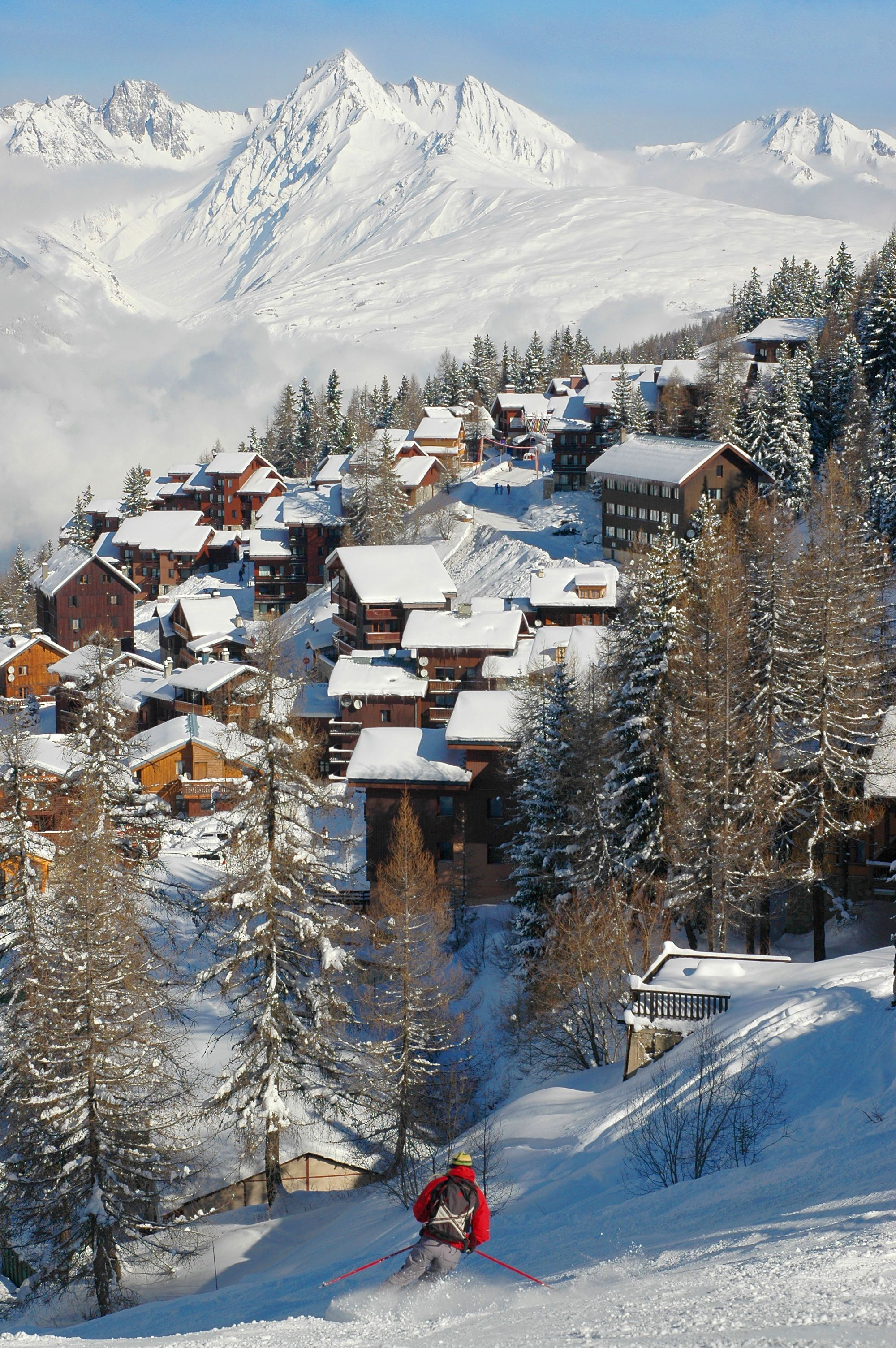 ski in france | skiing | pinterest | france, winter and resorts