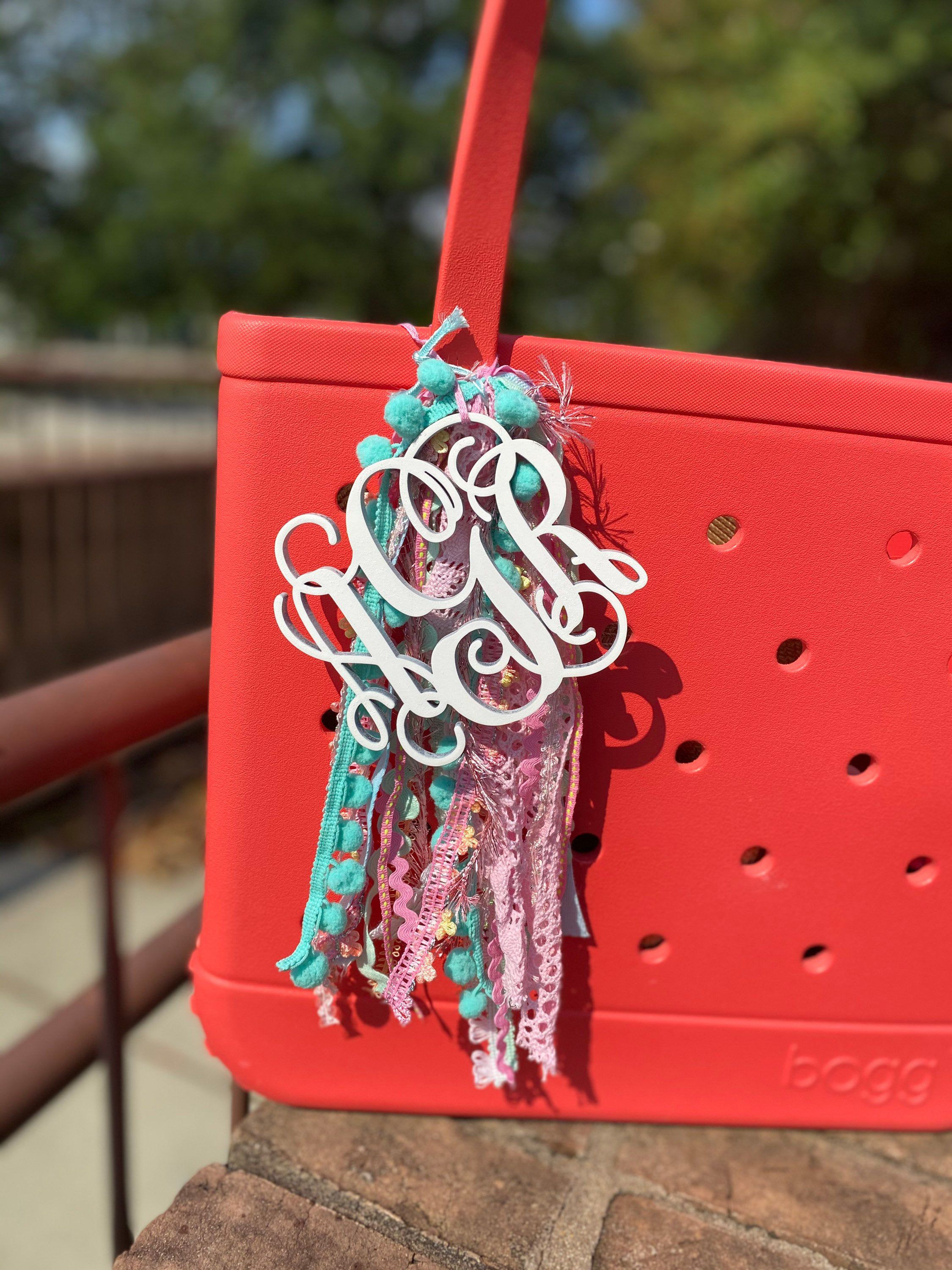 Bogg Bag Charm Bogg Bag Monogram Bogg Bag Accessory Etsy In 2020 Bag Charm Bags Bag Accessories