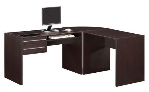 Set Meja Kantor Sudut Yang Mewah Dan Elegant Toko Mebel