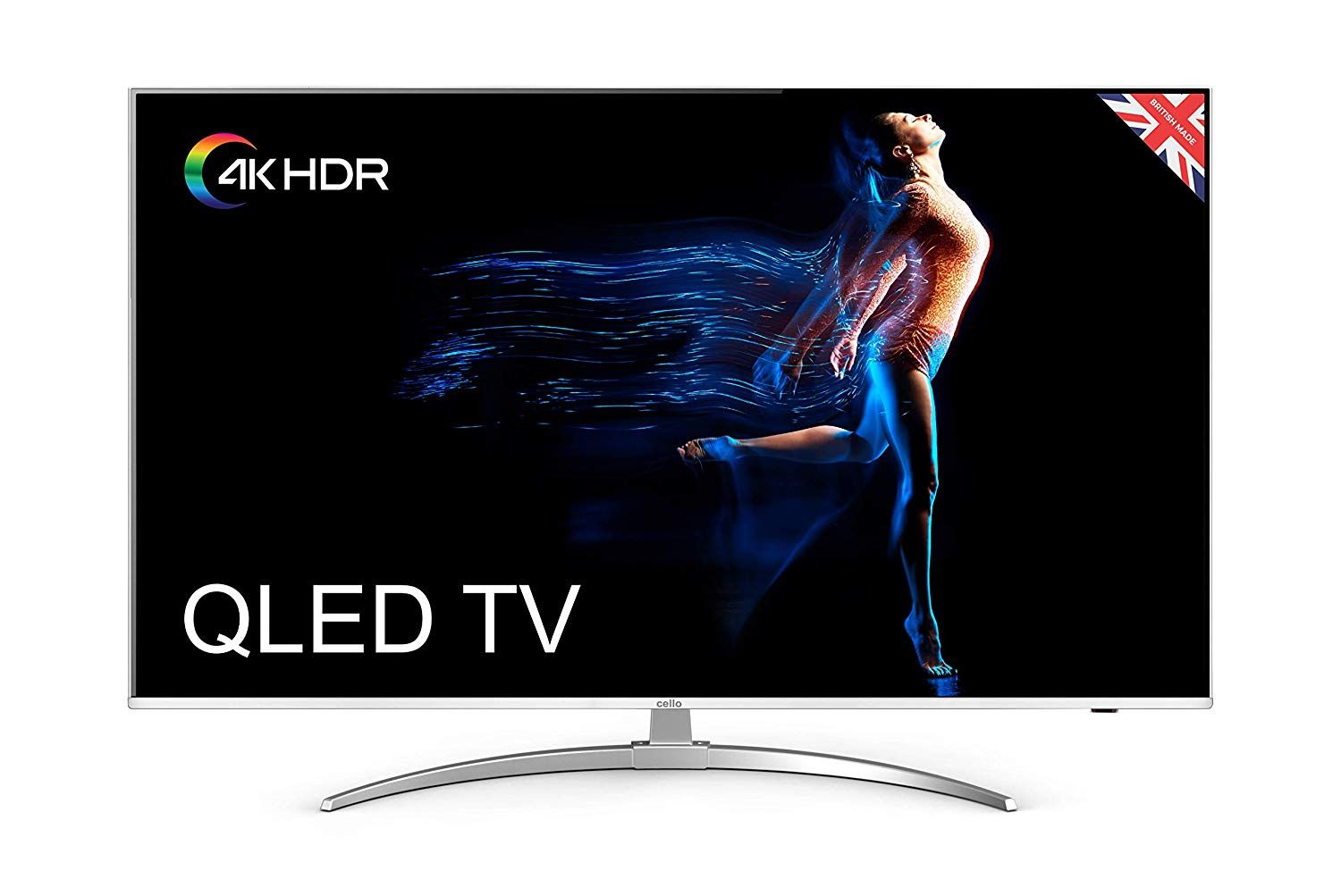 British Tv Company Cello Launches 55 Inch 4k Ultra Hdr10 Qled Tv