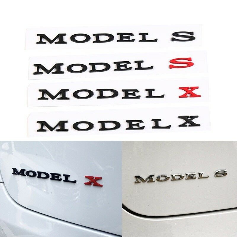 Tesla License Plate Vehicle Auto Vehicle Tag Model S X 3 Red Electric Car New Novelty Accessories License Plate Art