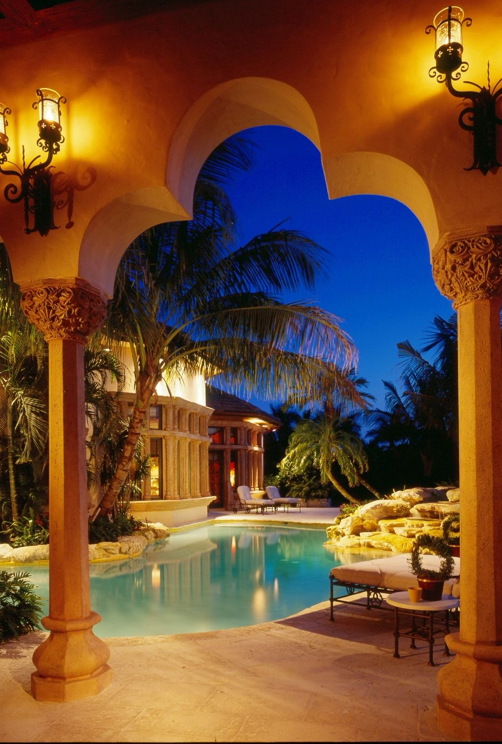 Gorgeous Backyard Architect Addison Mizner Interior Design