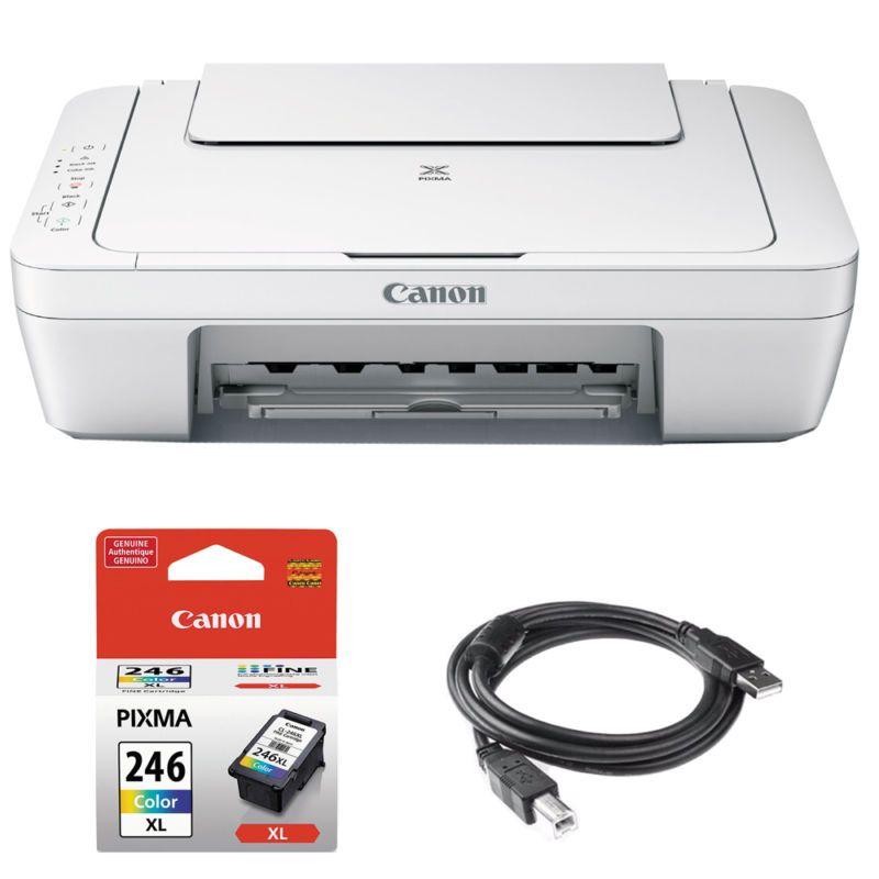 Canon pixma allinone color printer scanner copier w