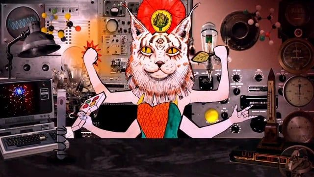From the album For House Cats And Sea Fans by Elysian Fields  Directed and Animated by Steven Mertens 2014