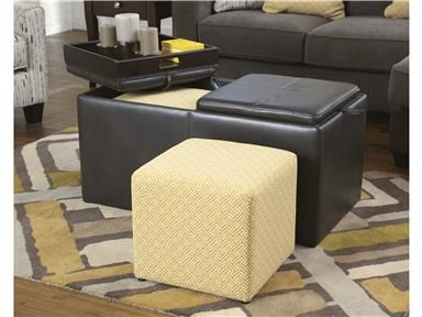 Hodan   Marble   Ottoman With Storage By Signature Design By Ashley. Get  Your Hodan   Marble   Ottoman With Storage At New Age Chicago Furniture Co.