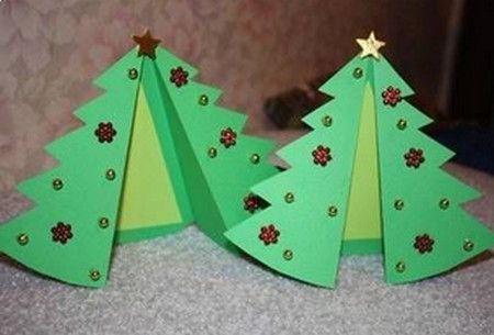 como hacer tarjetas de navidad en 3d o - Como Hacer Una Postal De Navidad
