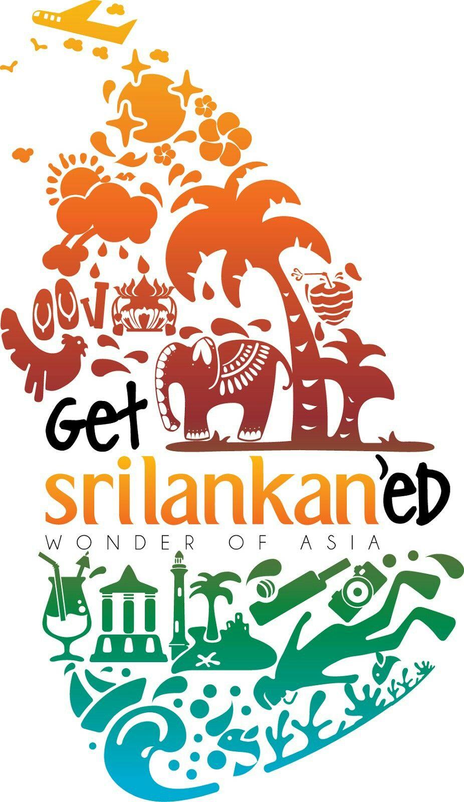 Srilanka Tourism Logo Travel Logo Sri Lanka
