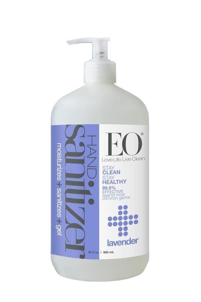 Eo Botanical Hand Sanitizer Gel Lavender 32 Ounce See This