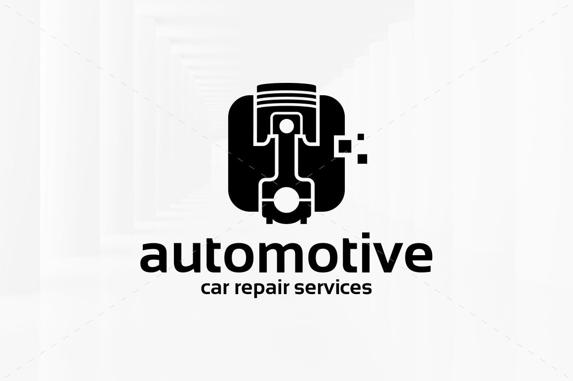 Automotive Logo Template by LiveAtTheBBQ on