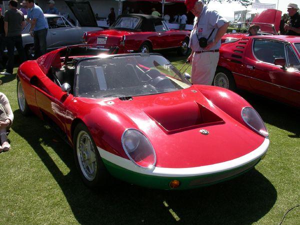 1966 Alfa Romeo Sp256 This Sports Prototype Racer Pays Homage To