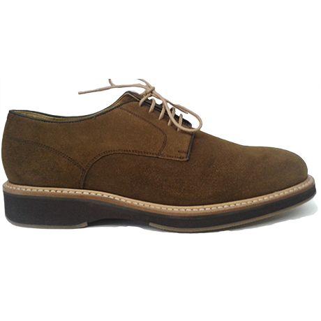 f510c6c4e6a Berwick 1707 blucher liso en ante marrón | Zapatos blucher liso de ...