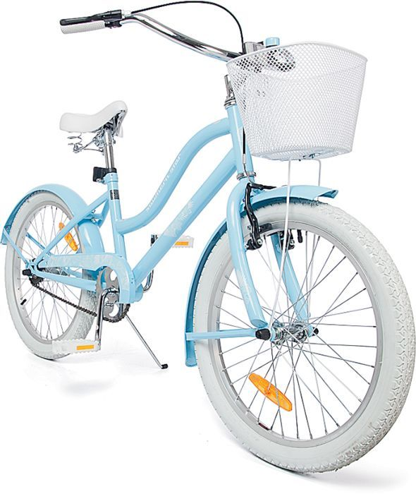 New Southern Star Girls 50cm 20 Vintage Cruiser Bike With