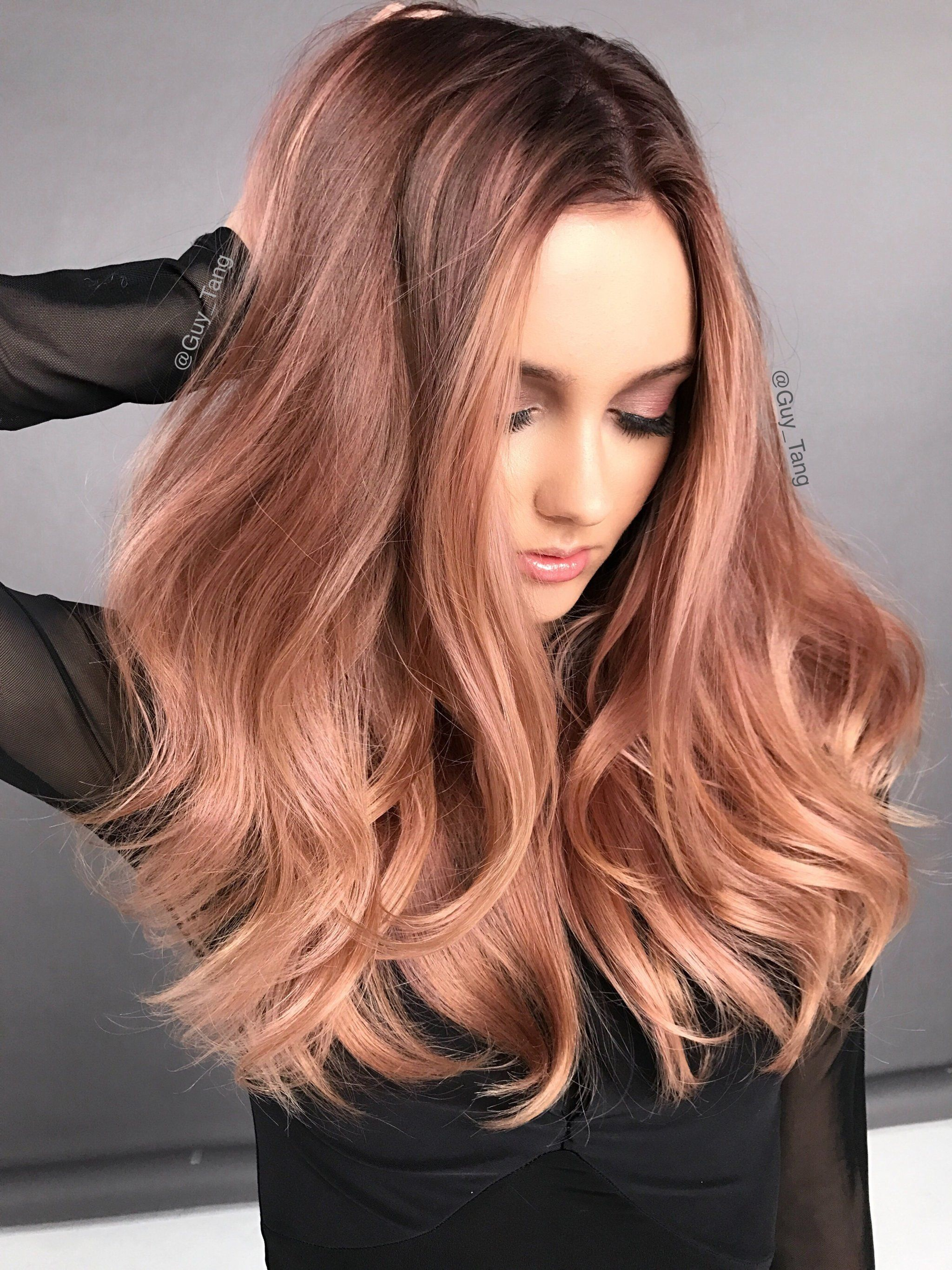 The look at home using l oreal paris feria smokey pastels in p2 smokey - Colorist Guy Tang Is Releasing His Own Line Of Vibrant Pre Mixed Shades