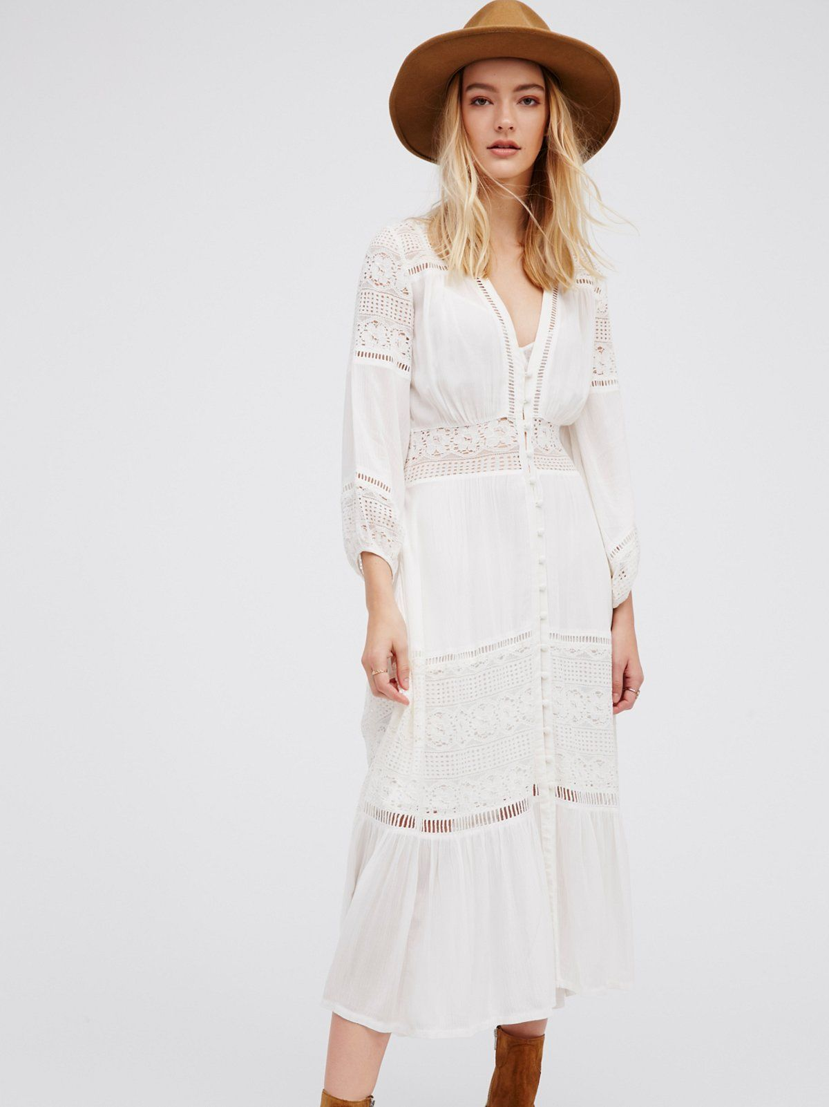 Olivia Luxe Lace Midi Dress Lace Dress Boho Long Sleeve Elegant Dresses Luxe Lace [ 1602 x 1200 Pixel ]