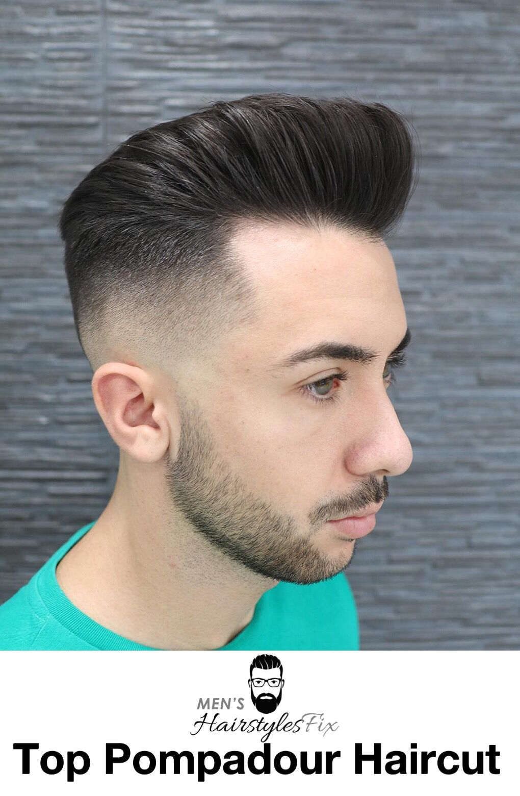 Top 40 Pompadour Hairstyles for 2018
