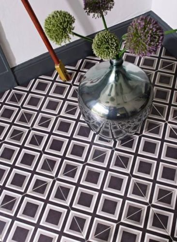 Victorian Square Floor Tile