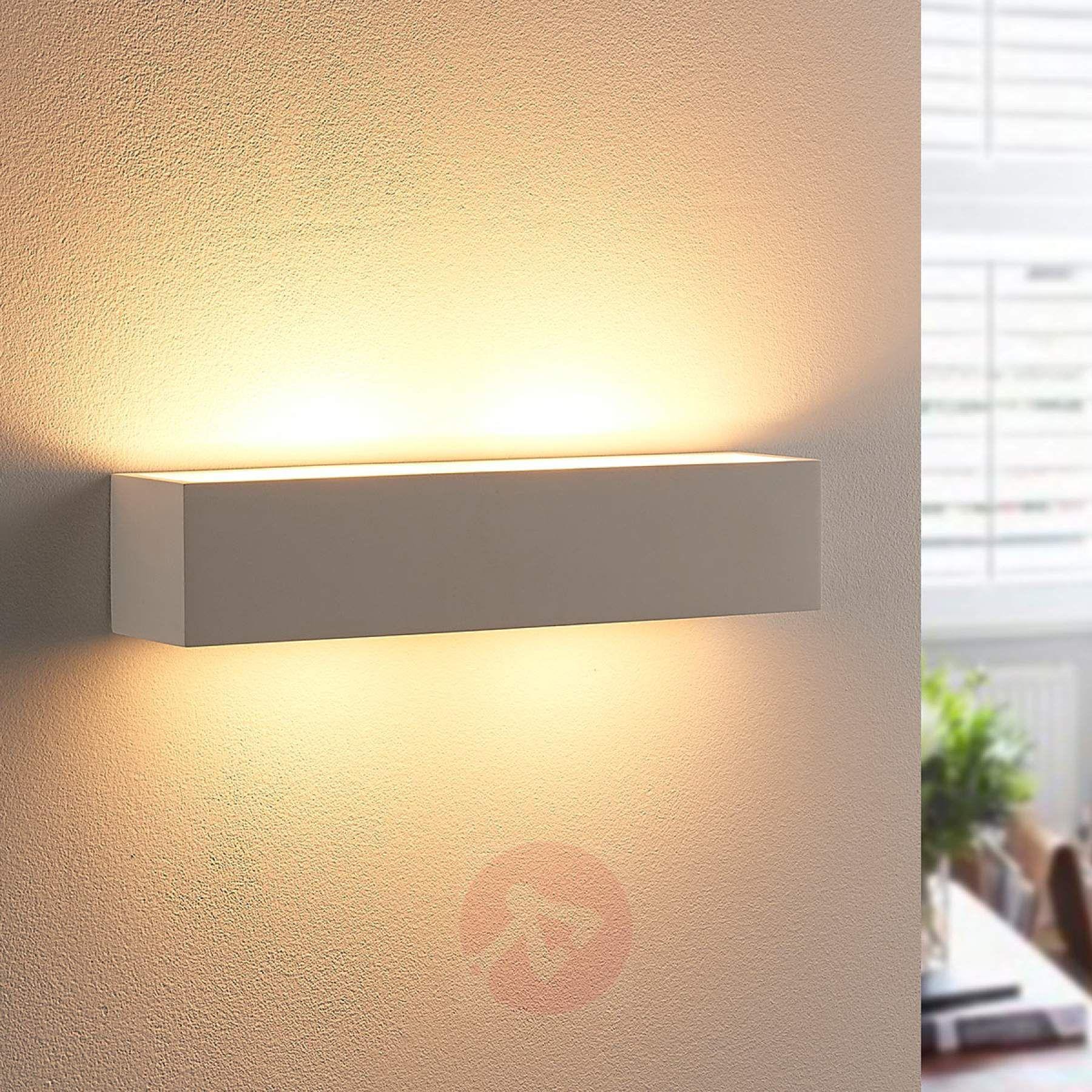 Gipswandleuchte Tjada Mit G9 Led Lampen Led Lampe Lampen Led