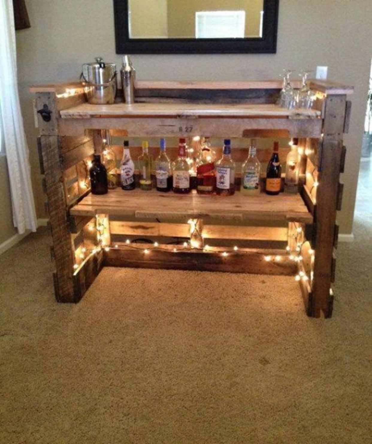 34 Awesome Basement Bar Ideas And How To Make It With Low: Pin By Roksana Daria On Home Ideas I Love