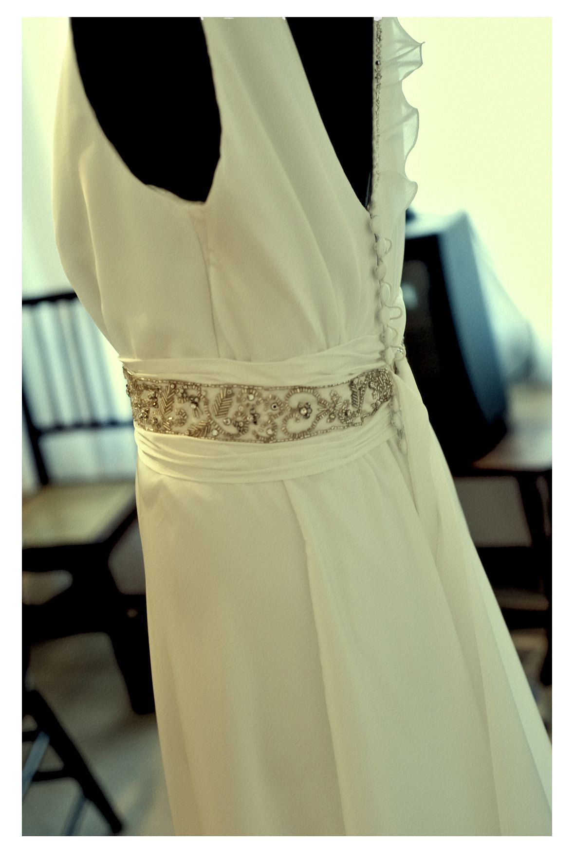 Parte trasera Vestido de Casamiento