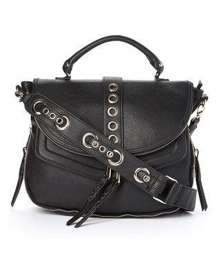 Love This Black Broxy Grommet Messenger Bag On