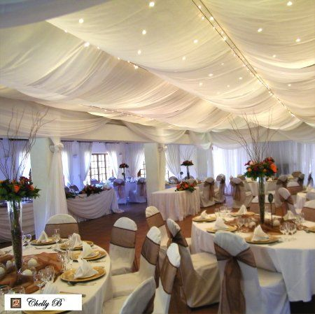 Simple Yet Stunning Ceiling Draping Ceiling Draping In