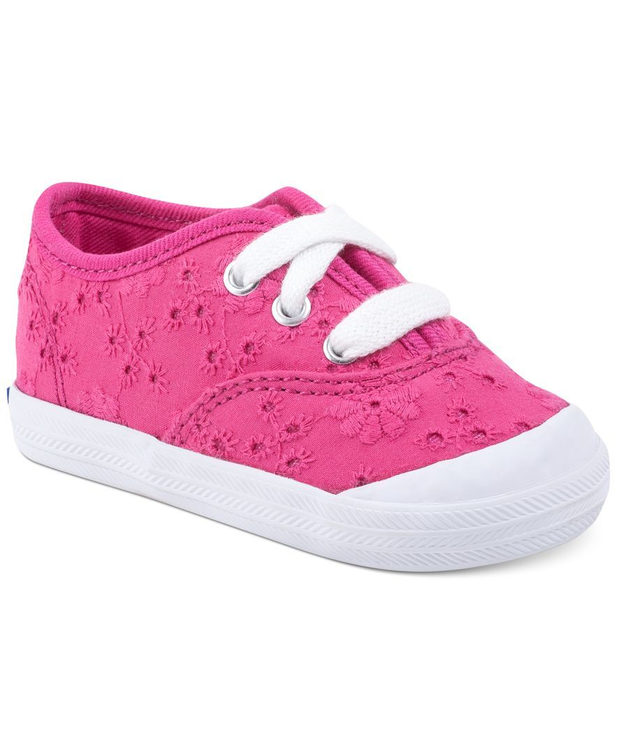 Zapatos rosas Keds Champion infantiles 7iWNjh
