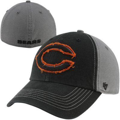 9974de52 47 Brand Chicago Bears Plasma Franchise Fitted Hat - Black/Charcoal ...