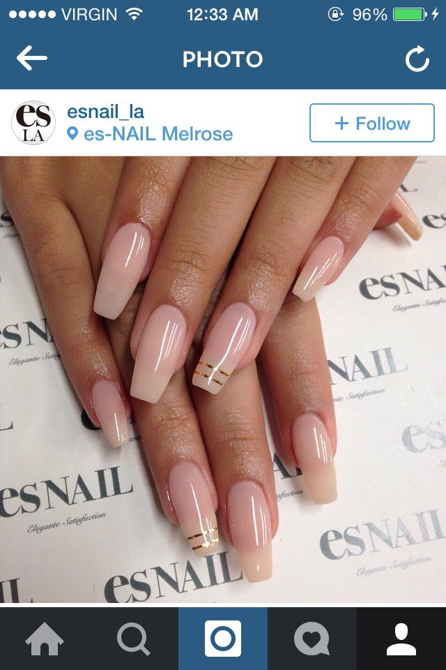 Pin by robyneee on Nails | Pinterest | Nude nails, Nail inspo and ...