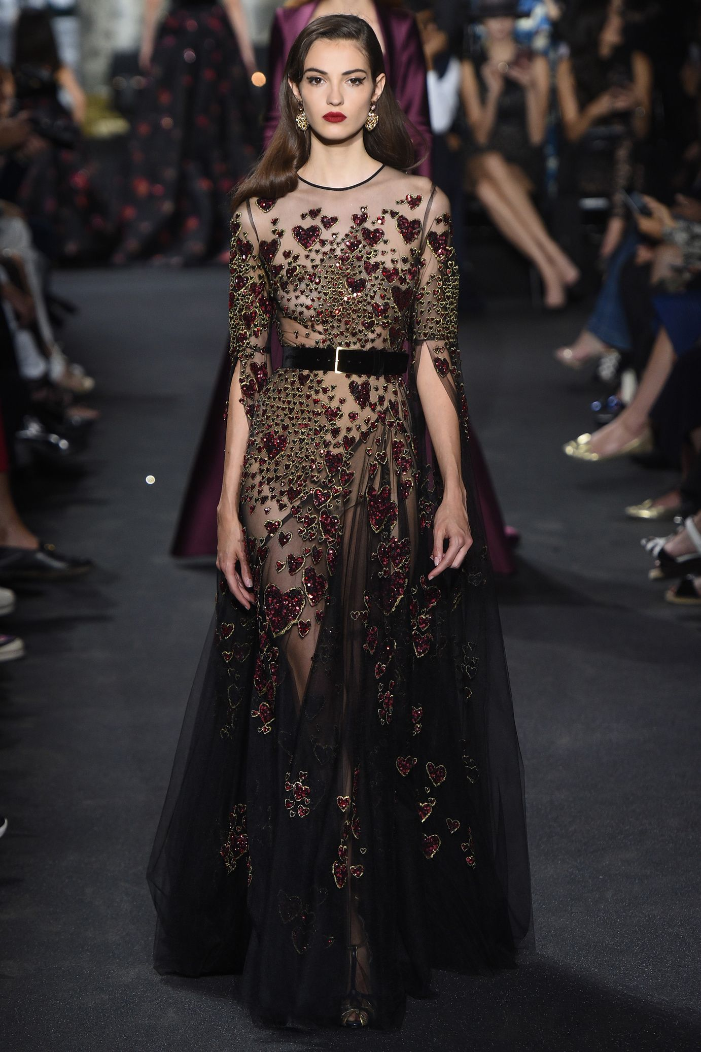 D fil elie saab haute couture automne hiver 2016 2017 for Hout couture