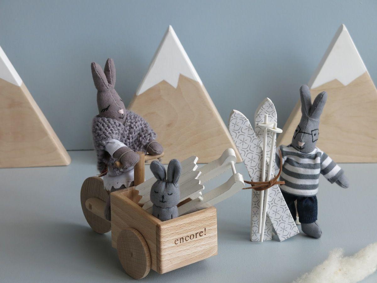Encore jouets - Week end d'hiver… les jolis jouets en bois et coton bio de encore!