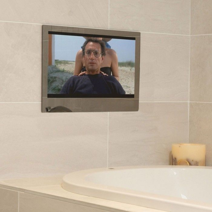19 Waterproof Bathroom Smart Mirror Tv Tv In Bathroom Mirror Tv Bathroom Mirror