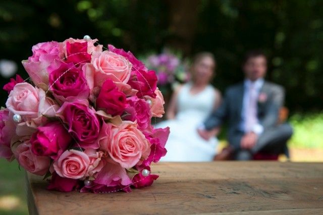 Idea for wedding bouquet