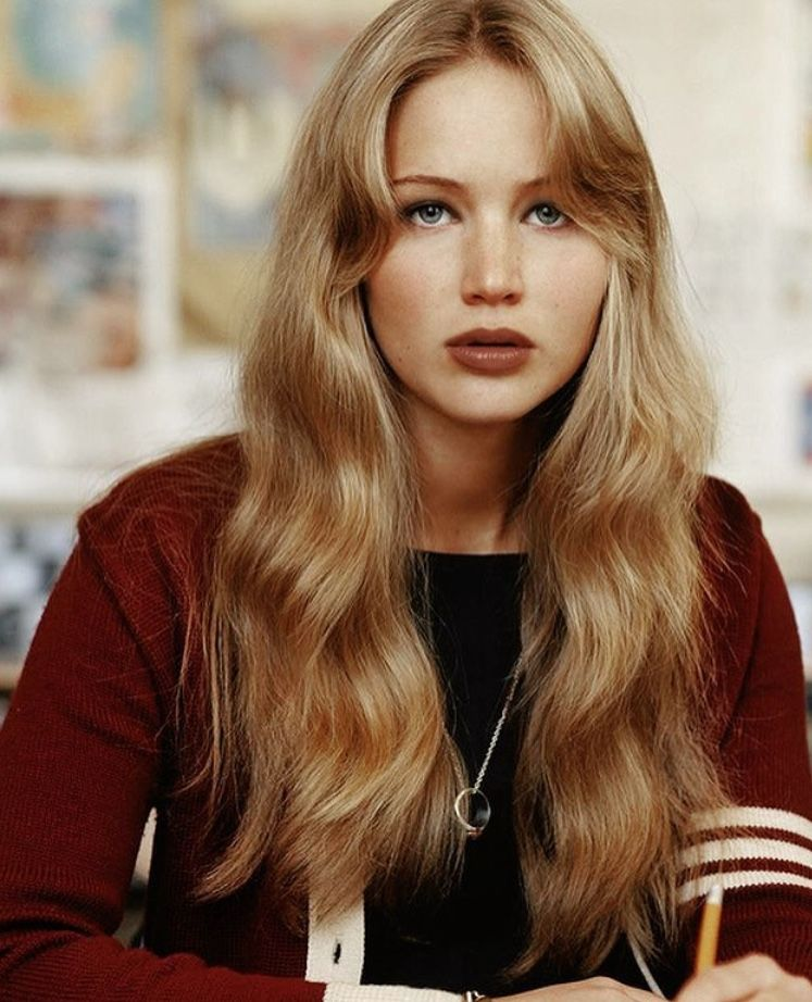 Jennifer Lawrence Hair Styles 70s Hair Long Hair Styles