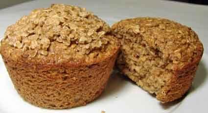 recipe: applesauce-oat muffins [25]