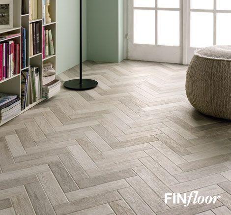 Finfloor Herringbone Laminate Flooring Lifestyle Picture