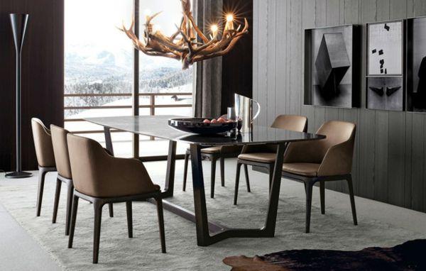 esszimmer st hle von poliform effektvolles m bel design. Black Bedroom Furniture Sets. Home Design Ideas