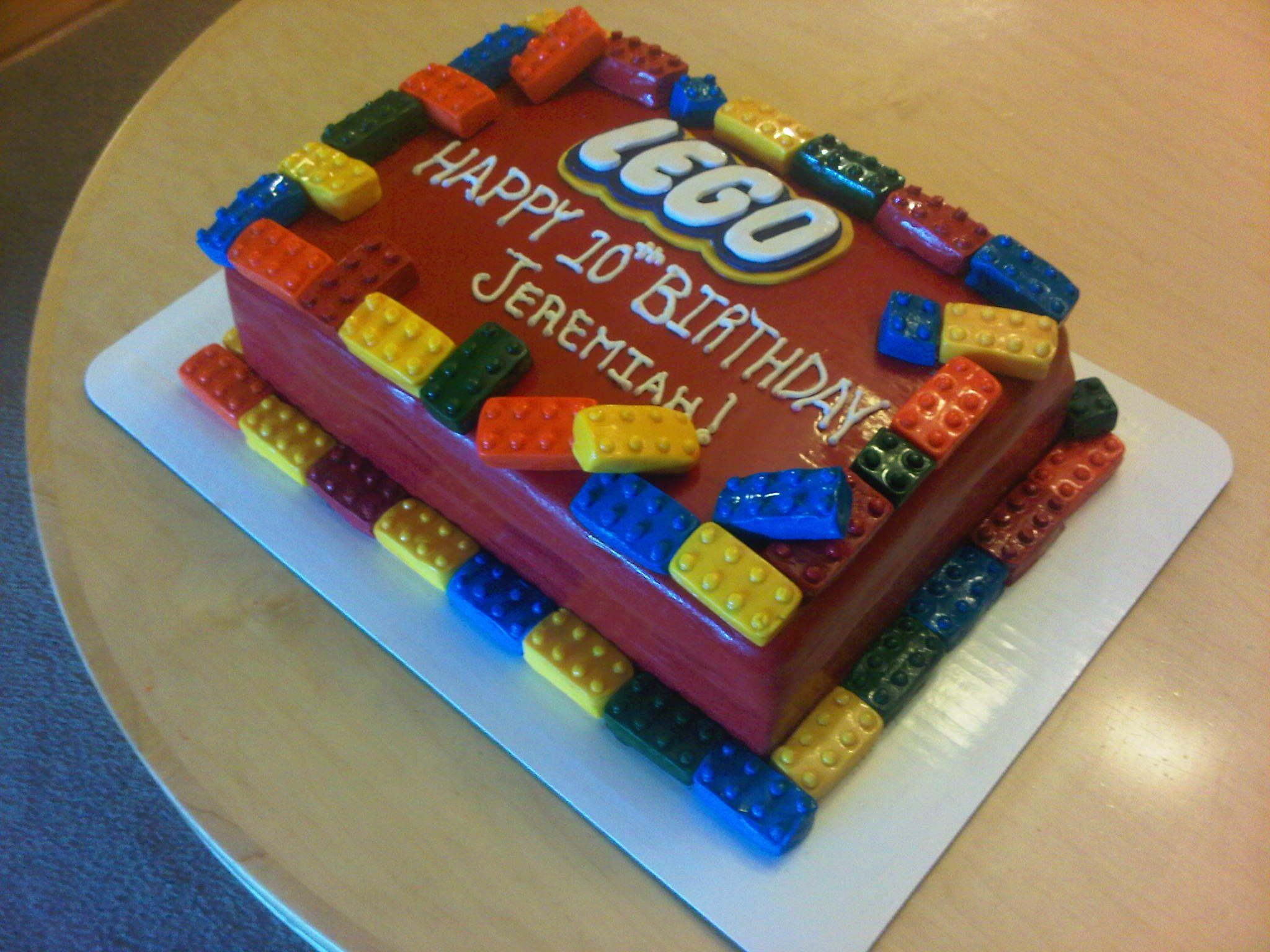 Astonishing Lego Birthday Cake Lego Cakes Decoration Ideas Lego Birthday Funny Birthday Cards Online Elaedamsfinfo