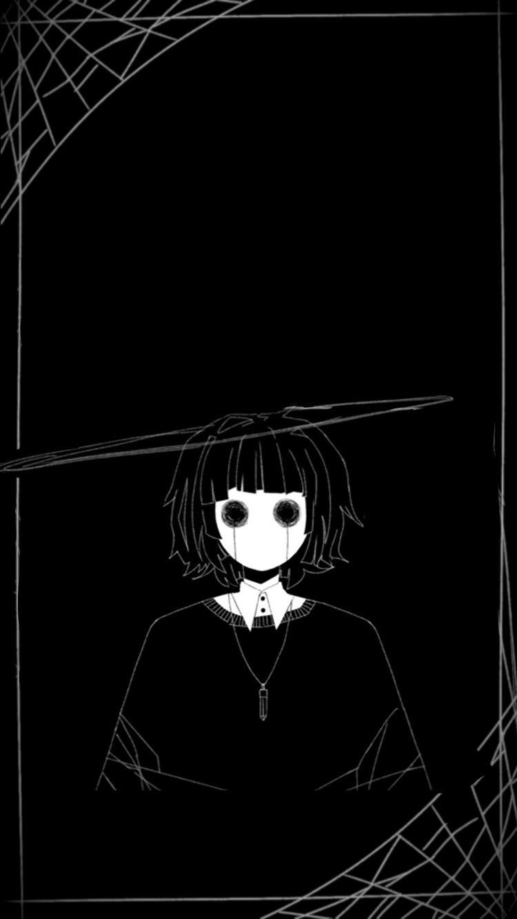 Skylar S World Dark Art Illustrations Dark Anime Creepy Art Dark anime wallpaper for iphone