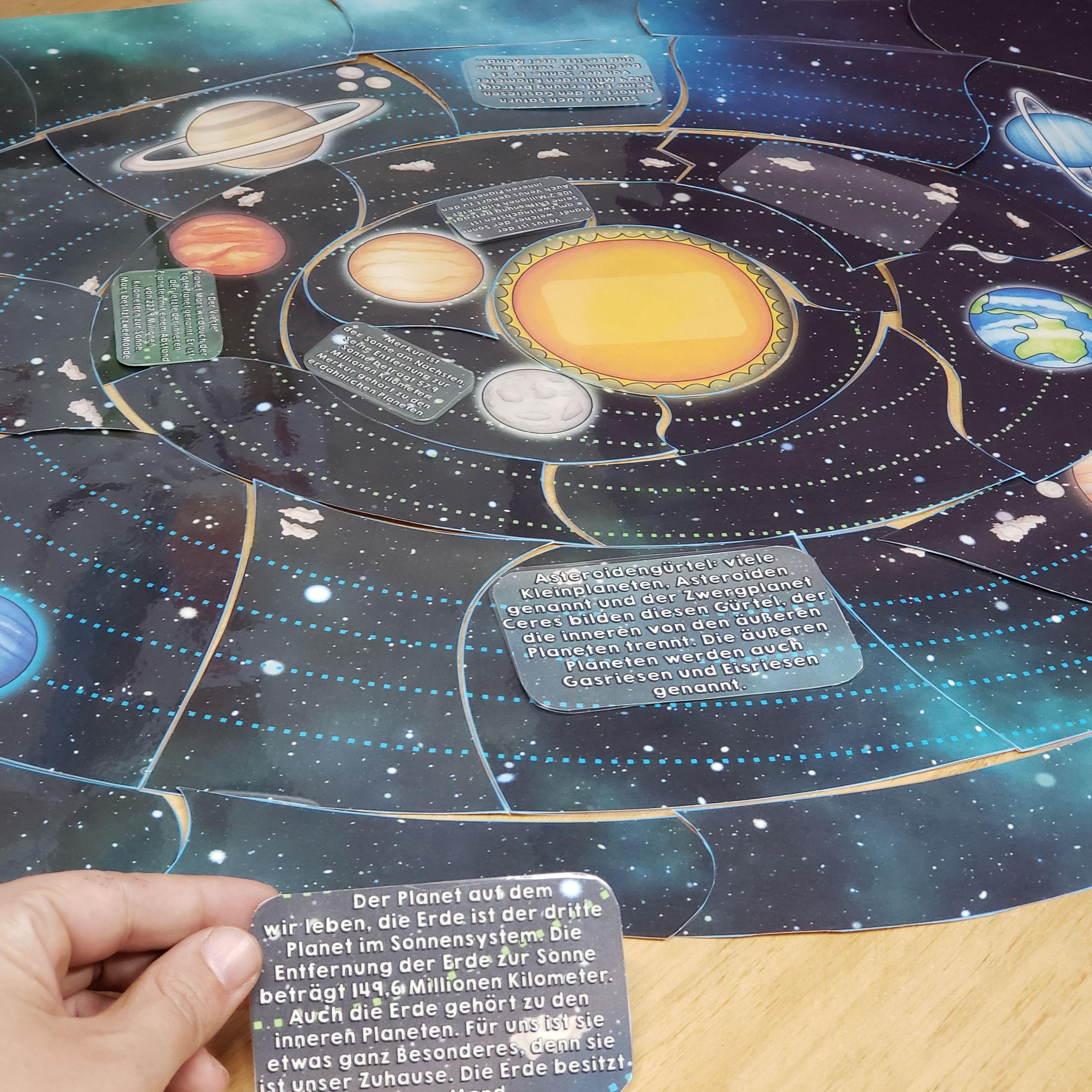 Spielerisch Durch Puzzlen Lernen Kinder Wie Planeten