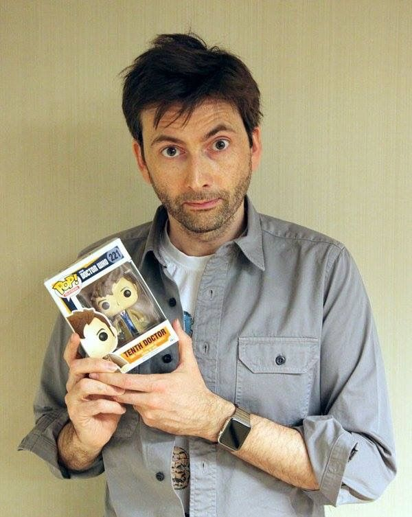The Doctor Holding Himself Lol I Have This One Doctor Who David Tennant 10th Doctor