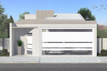 Planta terreno 8x20 fachadas e muros pinterest for Casas modernas 8x20