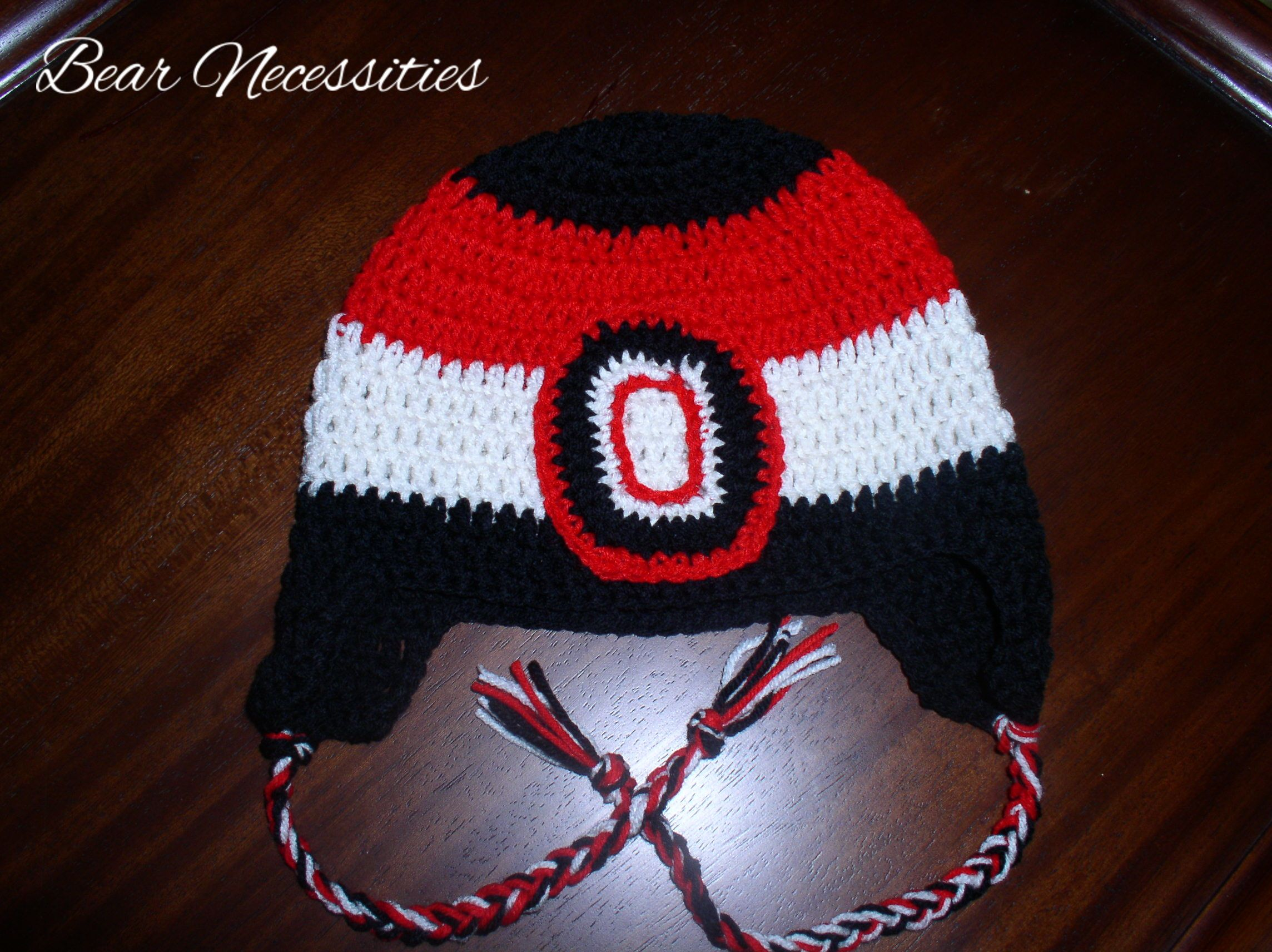 Ottawa Senators crochet hat   Crochet and knitting   Pinterest