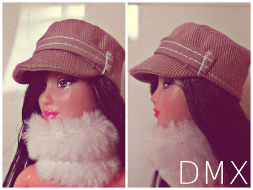 Barbie Cap Pattern on Flickr.Via Flickr: I have drafted the pattern. I have made several trial runs. Were good to go, its working & look...